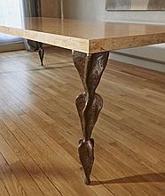 Franck EVENNOU (Né en 1959) Table haute