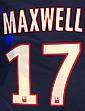 Maillot de football customisé de Maxwell Mise à prix: 200 €