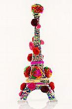 Antik Batik par Gabrielle Cortese  Tour Eiffel ''Paris - Pera''
