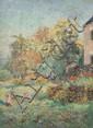 Emmanuel de LA VILLEON (1858-1944) LES ENFANTS DANS LE PARC DE SALVAR,1908 Huile sur toile