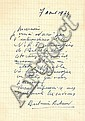 Antonin Artaud L'art et la Mort A l'enseigne des Trois Magots, Robert Denoël, 1929. In-8 br. 1/750...