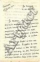 Joë Bousquet  2 l.a.s., 1936, manuscrits de Bounoure