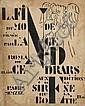 Blaise Cendrars La Fin Du Monde Filmée par L'Ange N.D. La Sirène, 1919. Grand in-4 br., n.p. Premi...