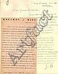 Jean de Boschère 12 lettres 1935-1938 1 l.a.s., 10 l.t.s. et 1 c.p., dont 5 in-12 à l'entête de