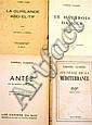 Gabriel Audisio La Guirlande Abd-El-Tif Alger, Librairie Clerre, 1927. In-12. br. E.O. tirée à 200...