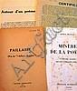 [Aragon] Affaire Aragon 4 tracts publiées entre janvier et avril 1932, les surréalistes s'en prenn...