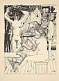 Paul DELVAUX (1897-1994) JEUNES FILLES, 1967