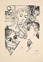 Paul DELVAUX (1897-1994) VISAGES DE FEMME, 1967