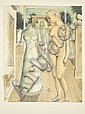 Paul DELVAUX (1897-1994) LA ROBE DU DIMANCHE, 1967