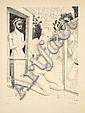 Paul DELVAUX (1897-1994) L'EVENTAIL, 1968