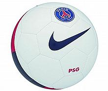 BALL SIGNED BY ALL THE PARIS SAINT-GERMAIN PLAYERS IN THE 2013 AUTUMN CHAMPIONSHIP WINNING TEAM