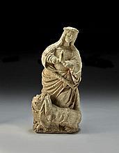 EST DE LA FRANCE, FIN DU XVE SIÈCLE Sainte Marguerite d'Antioche