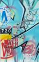 SEEN (Richard Mirando dit) (né en 1961) SANS TITRE, 2006 Peinture aérosol sur papier