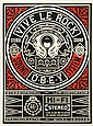 Shepard Fairey OBEY GIANT  Vive le Rock, 2012