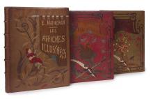 Ernest MAINDRON 1836-1907 Les Affiches illustrées. -Les Affiches illustrées (1886-1895). -Les Affiches étrangères illustrées