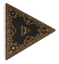 [Reliure triangulaire maçonnique]