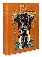 Rudyard KIPLING 1865-1936 Le Livre [et Le Second livre] de la jungle