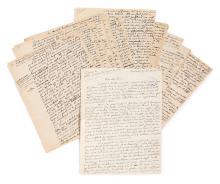 Lucien REBATET 1903-1972 [Lettre autographe signée. - Manuscrit autographe signé d'une variante des Deux Étendards]