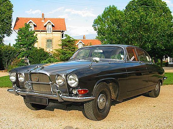 JAGUAR MK X 3.8 l - 1963 # 305314 DN, Intérieur cuir rouge, conduite à droite, échappement inox, système de freinage refait à n...