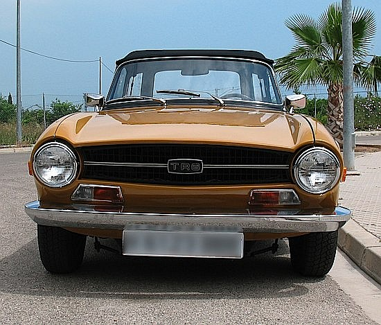 TRIUMPH TR6 - 1970 #CP52226 - 0 Model européen, injection 150 Cv, overdrive. Son propriétaire nous indique qu'elle a été rest...