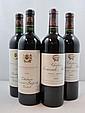 4 bouteilles 2 bts : CHÂTEAU BEAUSEJOUR BECOT 2000 1er GCC (B) Saint Emilion