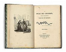 Honoré de BALZAC  La Peau de chagrin.