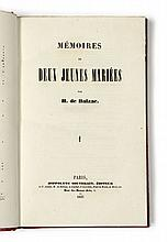 Honoré de BALZAC  Mémoires de deux jeunes mariés