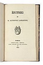 Alphonse de LAMARTINE  Epîtres