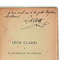 [Stéphane MALLARME]  Léon Cladel et sa Kyrielle de chiens
