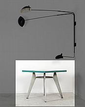 Jean PROUVE (1901 -1984) Guéridon aluminium Mod. 511 dit