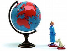 Tintin et Milou Mappemonde