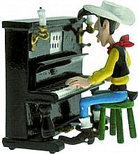 Lucky-Luke au piano