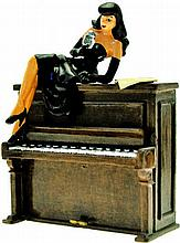 La Pin-Up sur le piano