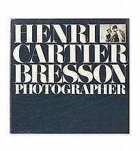 Henri CARTIER-BRESSON 1908 – 2004 PHOTOGRAPHER Boston, New York Graphic Society, 1979
