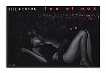 Bill HENSON Né en 1955 LUX ET NOX Zurich, Scalo, 2002
