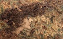 Lucien Lévy-Dhurmer Alger, 1865 - Le Vésinet, 1953 La bourrasque Aquarelle gouachée