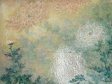 Lucien Lévy-Dhurmer Alger, 1865 - Le Vésinet, 1953 Etude de chrysanthèmes Pastel