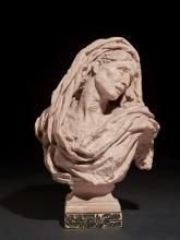 Jean-Baptiste Carpeaux Valenciennes, 1827 - Courbevoie, 1875 Mater dolorosa (esquisse) Terre cuite