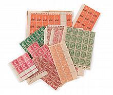France - Ensemble de timbres-poste neufs principalement français des années 1930-50.