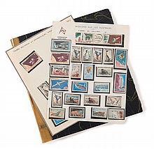 France et divers - 2 Classeurs et un album contenant des timbres-poste de France modernes, de timbres-poste des TAAF et des timbres...