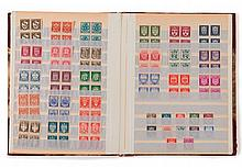 France et divers - Classeur contenant des timbres-poste neufs, principalement semi modernes, de France et pays divers.