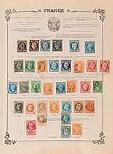 Étranger divers - Album contenant des timbres-poste tous pays, principalement oblitérés. Joint, des timbres-poste en nombre, égaleme...