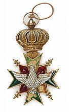 Allemagne Saxe Ordre du Faucon blanc. Étoile de Commandeur.