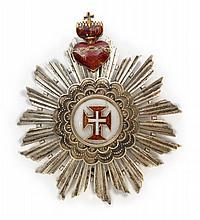 Portugal Ordre militaire du Christ. Plaque.