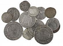 De Henri II à la IIIème République. Charles IX, teston (Superbe). Louis XVI, écu aux lauriers. Louis Philippe, franc 1840 (G. 453)....