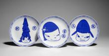Yoshitomo NARA Né en 1959 LIFE IS ONLY ONE - 2015 Sérigraphie sur porcelaine
