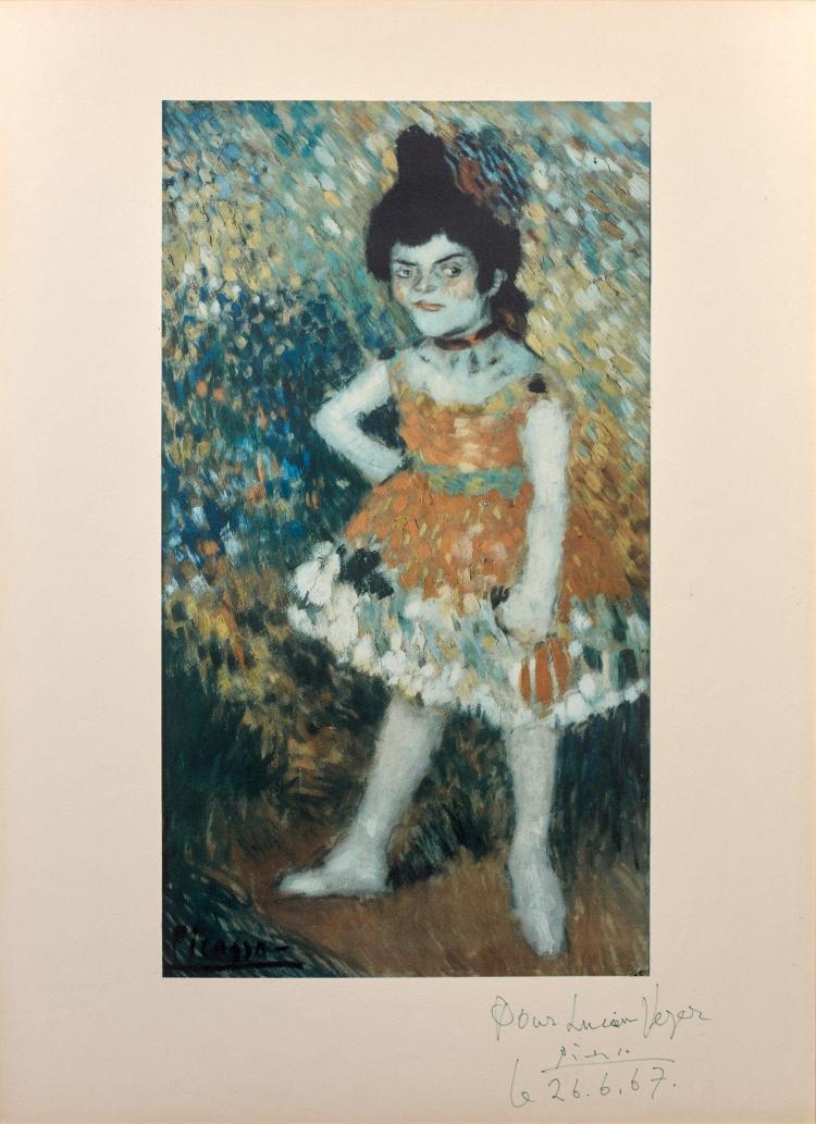 d'après Pablo PICASSO 1881 - 1973 La danseuse naine (Série Barcelona) - 1966