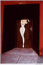 William EGGLESTON (Né en 1939) Untitled (Red Doorway), 1972 Tirage dye-transfer, vers 1996