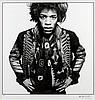 Gered MANKOWITZ (Né en 1946) Jimi Hendrix, 1967 Tirage argentique