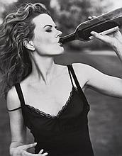 Mark SELIGER (Né en 1959) Nicole Kidman, Newport Pagnell, England - 1996 Tirage argentique